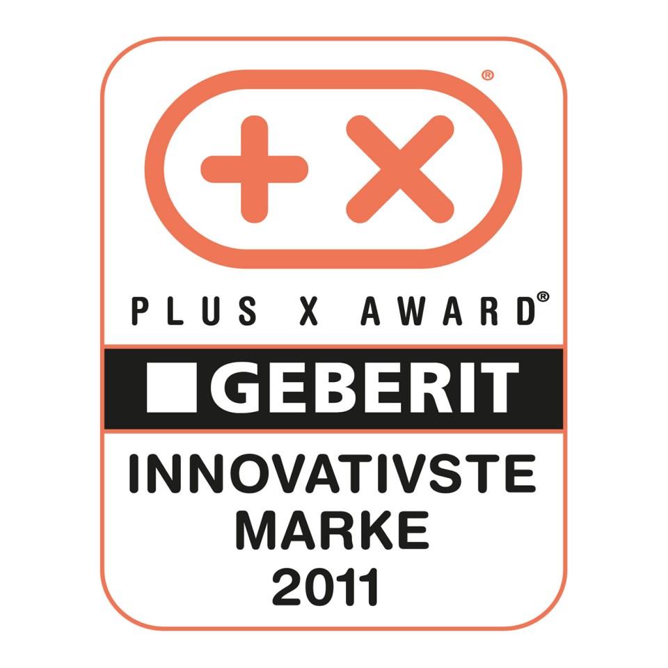 פרס Plus X למותג החדשני ביותר ל-Geberit