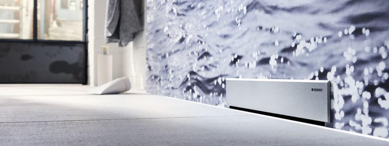 תעלת ניקוז למקלחת של Geberit מסדרת CleanLine