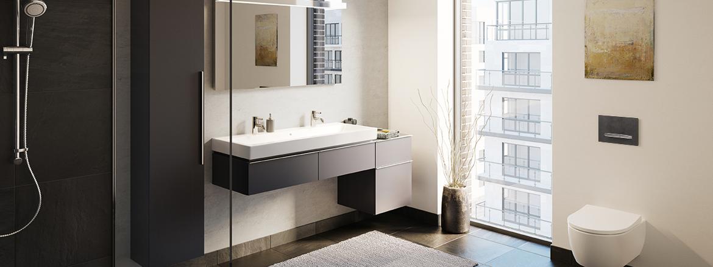 חדר רחצה מסדרת iCon, נקודת ניקוז למקלחת CleanLine