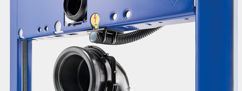 צינור לכבלי חשמל Geberit Duofix
