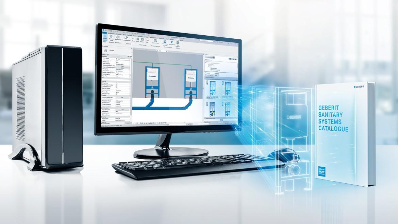 תוכן BIM של Geberit ל-Autodesk® Revit®