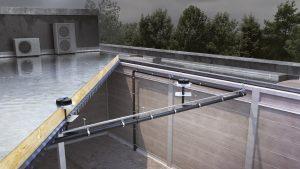 מערכת סיפונית לניקוז גגות Geberit Pluvia