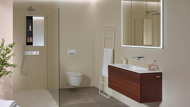 סדרת חדרי האמבט Geberit ONE