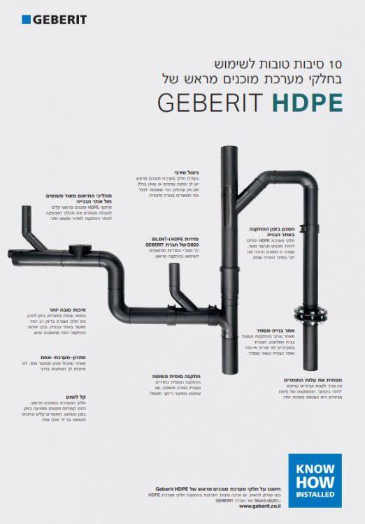 10 סיבות טובות ל-Geberit HDPE